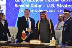 U.S.-Qatar Strategic Dialogue in Doha, Qatar (U.S. Department of State) Tags: mikepompeo qatar