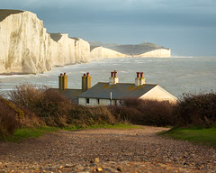 Old Coastguard Cottages (JamboEastbourne) Tags: seven sisters country park cuckmere haven east sussex coastguard cottages sea chalk cliffs england