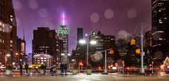 Farewell 2018 (mkc609) Tags: newyorkcity newyork nyc empirestatebuilding christmas tree nightphotography nikon z6 rain purple
