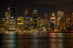 Sydney CBD South (luaP_Paul) Tags: sydney cbd city night harbour long exposure