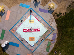 Your Turn - I'm on Free Parking (imtnbike) Tags: dji drone monopoly sanjose california unitedstates us