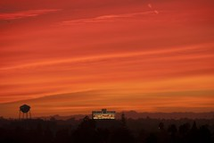 (Piers Dennis) Tags: losangeles la california sunset superbloodwolfmoon 2019 moon city january downtown dtla