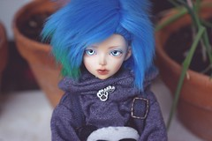 [020/365] Aqua (Ise-Bandit) Tags: abjd bjd asian ball joint doll dollfie resin fairyland fl fairyline minifee mnf momo aqua