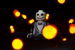 LEGO Jack Skellington (40gOingOn4!) Tags: the nightmare before christmas lego jack skellington pumpkin patch orange lights minifigure minifigures toy toys macro nikon d7100 105mm rob robert trevissmith uk