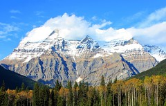 Mount Robson by Graham Willetts (grahamwilletts) Tags: robson mount clouds scenery awesome great best peaks sky peak landscape beautiful incredible blue trees covered rockies parks national nature wonderful amazing mountains high north americas rocky mountain range