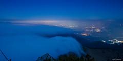 November clouds (peter-goettlich) Tags: nikkor nikon d7000 bayern deutschland inn rosenheim brannenburg kufstein wolken cloud night nacht fog nebel mountain wendelstein hochsalwand rampoldplatte cold city landscape