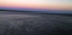 tyrella evening (srlshaw) Tags: tyrella beach sea sunset pink blue waves movement icm purple grey intentional camera long exposure water sky intentionalcameramovement