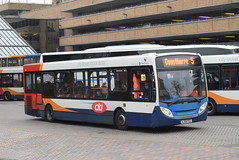 SE 36065 @ Peterborough Queensgate bus station (ianjpoole) Tags: stagecoach east alexander dennis enviro 200 aj58pzz 36065 working route 5 western spine road stanground lavender crescent dogsthorpe