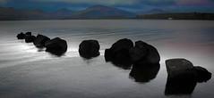 Milarrochy bay , Loch lomond , Scotland . (Nicolas Valentin) Tags: loch lomond lochlomond scotland rock scenery clouds cloud mountain adventure