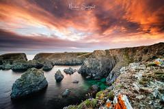 Belle Ile en Mer (Njones03) Tags: 2018 belleileenmer bretagne nicolassavignat seascape sunset sky clouds bangor morbihan france fr