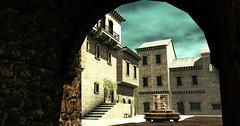 The Forgotten City of Ko-Ro-Ba (Layla Falconvale) Tags: koroba laylafalconvale sl slphotography city fountain gor