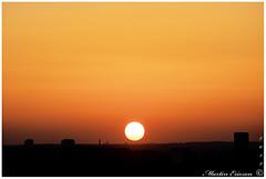 Tallinn sunset (October) (Marteric) Tags: tallinn sunset old town autumn evening nightfall sun sky red yellow