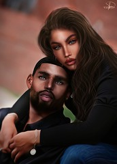 Cakie Hoffman & Ty Carrington (A. Doutzen) Tags: couple second life secondlife photoshop