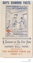 1890 Diamond Paste Company (albany group archive) Tags: wallpaper 1890s old albany ny vintage photos picture photo photograph history historic historical