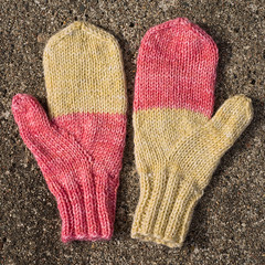 Children's mittens (Winterbound) Tags: knitting handknitted handmade mittens