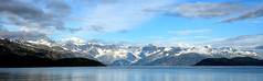 Snowcapped Mountains Of Glacier Bay (Eyes Open To Life) Tags: mountainrange mountains snowcapped snow ice nature seascape coastline coast ocean rugged wilderness alaska bay water vividstriking