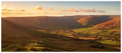 Afternoon light, Hope Valley, Peak District (S.R.Murphy) Tags: autumn castleton derbyshire landscape mamtor peakdistrict light afternoon panoramic panorama fujifilmxt2 leefilters lee06ndgrad sky roaf field grass xf1024mmf4 road mountain