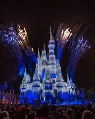 Fire and Ice Castle (Scott Thomas Photography) Tags: afrozenholidaywish christmas cinderellacastle fantasyland fireworks florida holiday ice lights live magickingdom night orlando show stage travel vacation waltdisneyworld unitedstatesofamerica 840