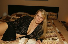 Laying in my bed (ajaypenn) Tags: bed lingerie sexy sexual fun mature grandmother
