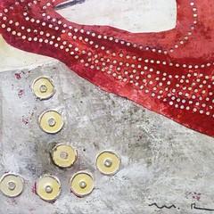 marcela rosado painting detail III (msdonnalee) Tags: acrylic painting museum paintingdetail marcelarosado abstract