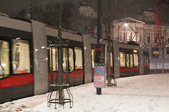 IMG_5823-12 (Goldenwaters) Tags: streetphotography lensculture subjective capturestreets canon50d 50d vienna wien citystreets winter snow snowing white winterweather europe trains tram tramstation trainstation trasport publictransport departure
