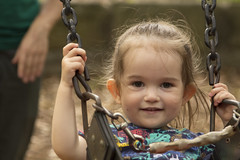 enjoying a swing (louisa_catlover) Tags: portrait child family daughter toddler tabby tabitha park playground outdoor swing
