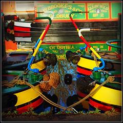 O˥pq∩ɹ⅄ (Jason 87030) Tags: oldbury reflection canal cut guc granduinioncanal tiller arms narrowboats yellow green rope red color colout bright sunny walk december 2018 frame border uk local tied bondage craft vessel boats moored interesting colorful