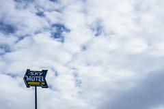 Sky Motel (Los Paseos) Tags: montana drummond sign motel sky