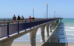 The Pier. New Brighton. (Bernard Spragg) Tags: thepiernewbrighton compactcamera lumix 1inchsensor ocean pier broadwalk coast beach seaside