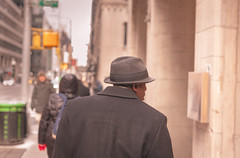 To the brim (Eddie K. Photo) Tags: new york city manhattan street photograpy