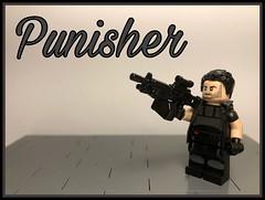 "Marvel Figs #28: ""Punisher"" (-InsomniCat-) Tags: insomniverse antihero comics marvel spiderman daredevil lego punisher"