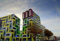 Students buildings in Southend (Tony Worrall) Tags: essex southeast south southern resort seasidetown architecture design modern blocky building colourful colours update place location uk england visit area attraction open stream tour country item greatbritain britain english british gb capture buy stock sell sale outside outdoors caught photo shoot shot picture captured ilobsterit instragram