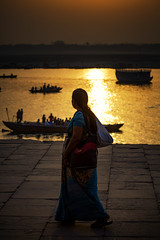 "Dawn By The Ganges River, Varanasi (El-Branden Brazil) Tags: varanasi india indian ganges ganga ceremony hindu hinduism asian asia sacred holy mystical ""south asia"" sadhu"