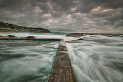 Whale beach pool (Graeme Gordon) Tags: whalebeach beach pool whalebeachpool sydney sunrise mood moody longexposure winter oceanpool