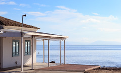 Corfu Island 001 (A.S. Kevin N.V.M.M. Chung) Tags: corfu island greece sunnyday sunny sunshine sea ocean adria sky blue bluesky house coastal 夏 海 うみ 科孚島 希臘