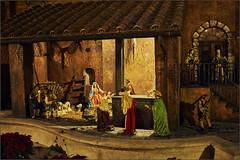 Königlicher Besuch (Helmut Reichelt) Tags: besuch königlich heilige3könige krippe weihnachten spanischetreppe piazzadispagna rom roma italien nikon d3 captureone8 colorefexpro4 nikkor35mmf2