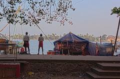 Waiting (Rajavelu1) Tags: beach arabianseashore fortcochin kerala india art creative handheld availablelight dslr artdigital candidstreetphotography