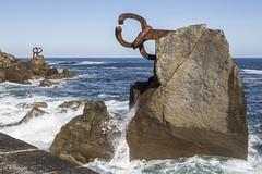 San Sebastian (czaban.gyorgy) Tags: sculpture donostia chillida iron