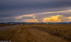 Yesterday before the snow (K.R. Alexander) Tags: countryside rural highway southernalberta november2018 color clouds sky skyline nikond810