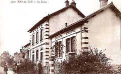 Ecole du Bois-du-Leu - 1910