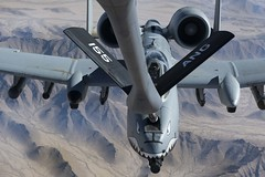 Tanker team refuels the fight (BagramAF) Tags: unitedstatesairforce uscentralcommand usaf afcent afghanistan airman airmen attack airfield a10 warthog kandahar kc135 stratotanker air refueling 451st expeditionary group maintainers squadron centcom pilot aircraft flightline mission 340th