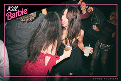 0335 (Ester Vulpiani Photographer) Tags: kill barbie wishlist roma night life dance dancing club clubbing nightlife disco girl girls frame pink fuxia smile smiling happy people kiss love portrait dj djs happiness friendship friends friend 2018 ester vulpiani canon eos 550d