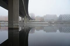 Sthlm –10°C (gunnar.berenmark) Tags: bridge bro fog dimma stockholm sweden sverige