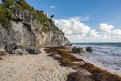 Playa Bugambiglia (Eunice Gibb) Tags: mexico quintanaroo south caribbeansea caribbean ruins mayanruins mexicanruins archaeologicalsite archeologicalsite mayanarchaeologicalsite tulumarchaeologicalsite tulumruins playa beach playabugambiglia tulum tulumbeach