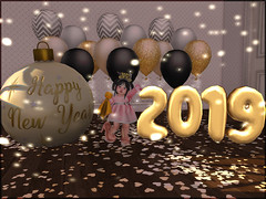 Happy 2019! (daisypea) Tags: flickr spam art daisy crowley secondlife second life sl roleplay toddler child kid children tot td bebe bad seed toddleedoo colour color draw paint crayon photo photography picture rp cute sweet adorable baby little girl daughter sister family look day lotd landscape school create creativity creative new years year 2019 happy