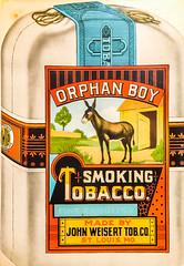 2018.01.02.3678 Tobacco Ad 2-365 (Brunswick Forge) Tags: 2019 virginia iphone iphone6 sign signage historic animal animals animalportraits favorited
