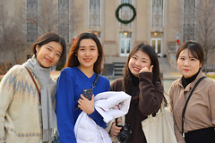 Visitors from South Korea (radargeek) Tags: oklahomacity okc 2019 january downtown portrait southkorea tourist