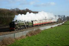 70000 Slindon 08/01/2019 (Brad Joyce 37) Tags: 70000 britannia steam locomotive train locomotiveserviceslimited 5p46 47853 slindon test staffordshire sunshine winter bluesky nikon d7100