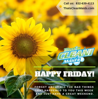 #Houston #Cypress #Katy #Spring #Thewoodlands #Tomball #CleaningService #HouseCleaning #TGIF https://t.co/2V9QJBMjdV