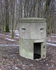 Einmannbunker (Don Claudio, Vienna) Tags: bunker ottakring wien vienna jubiläumswarte einmannbunker splitterschutzzelle